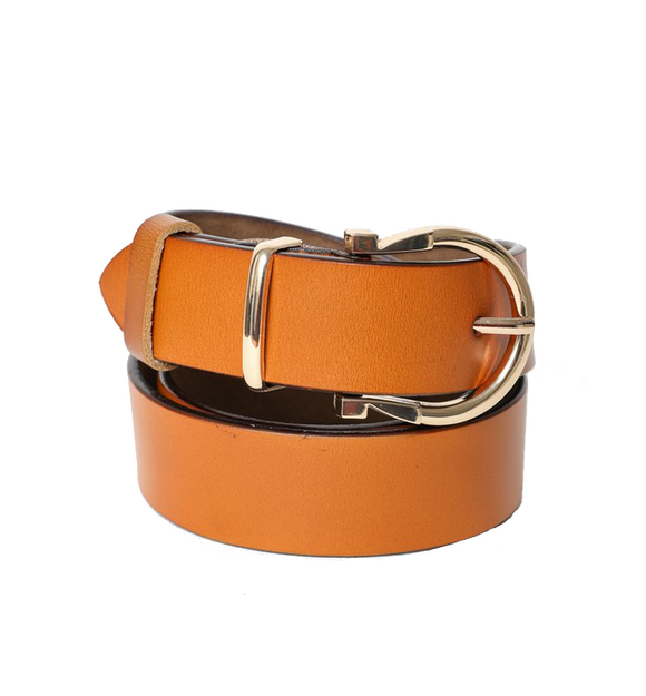 Horseshoe Gold Buckle Belt