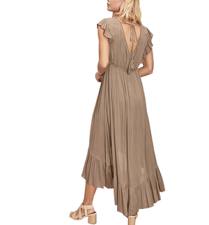 Seize The Moment Dress in Olive - Hudson Square Boutique