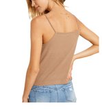 Ribbed Cami - Hudson Square Boutique LLC