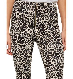 Zip Front Safari Pants