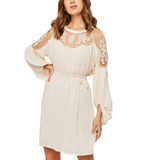 Hailey Lacey Dress - Hudson Square Boutique
