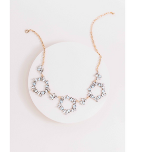 Captivating Circle Stone Necklace