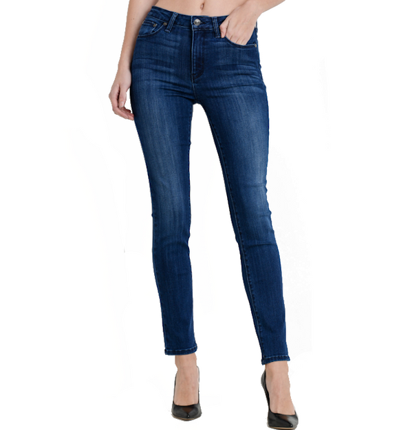 Just Black Dark Denim Cigarette - Hudson Square Boutique