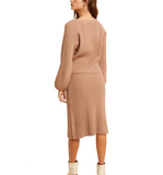 Ribbed Sweater Dress & Cardi SET
