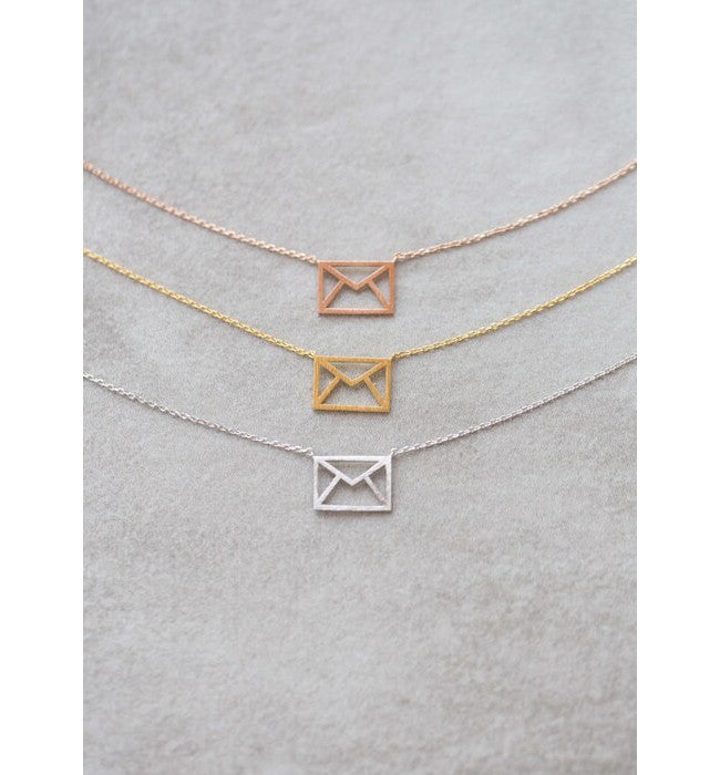 Envelope, You've Got Mail Necklace