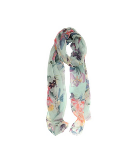 Light Weight Printed Scarves - Hudson Square Boutique