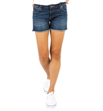 KUT From The Kloth Gidget High Rise Frey Short - Hudson Square Boutique