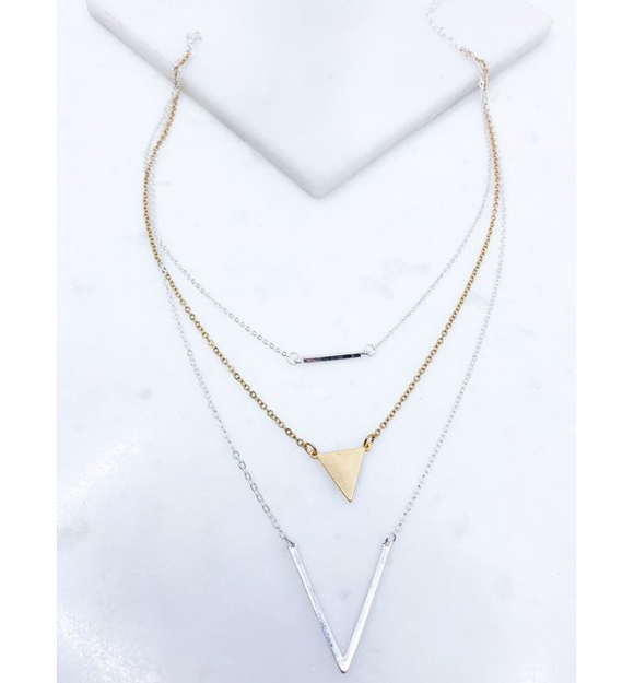 Triple Layer Necklace