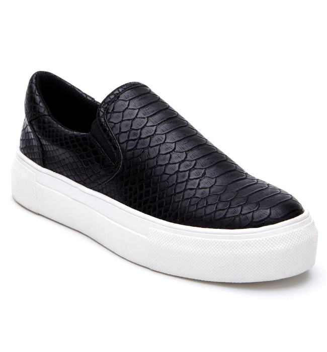 Matisse Gradient Slip On Sneaker in Black