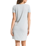 Triblend Side Knot Dress - Hudson Square Boutique