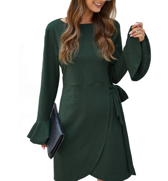 Bella Long Sleeve Dress - Hudson Square Boutique