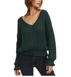 Darling Knitted V Neck Sweater