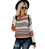Autumn Striped Sweater