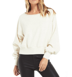 Allie Speckled Sweatshirt - Hudson Square Boutique