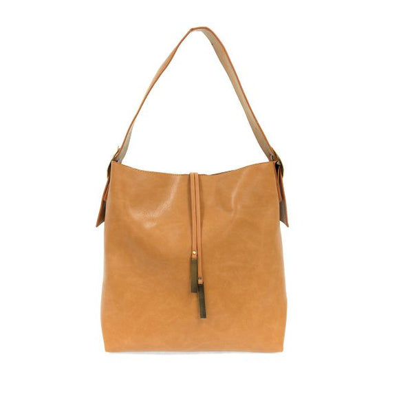 Jillian Hobo with Tassel - Hudson Square Boutique