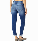 KanCan Button Front Distressed Skinny Jeans - Hudson Square Boutique LLC
