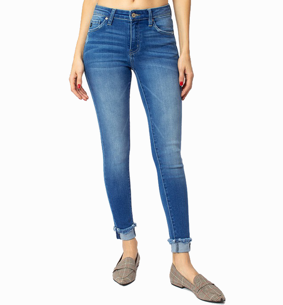 Kancan Medium Wash Skinny Jeans