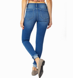 Kancan Medium Wash Skinny Jeans - Hudson Square Boutique
