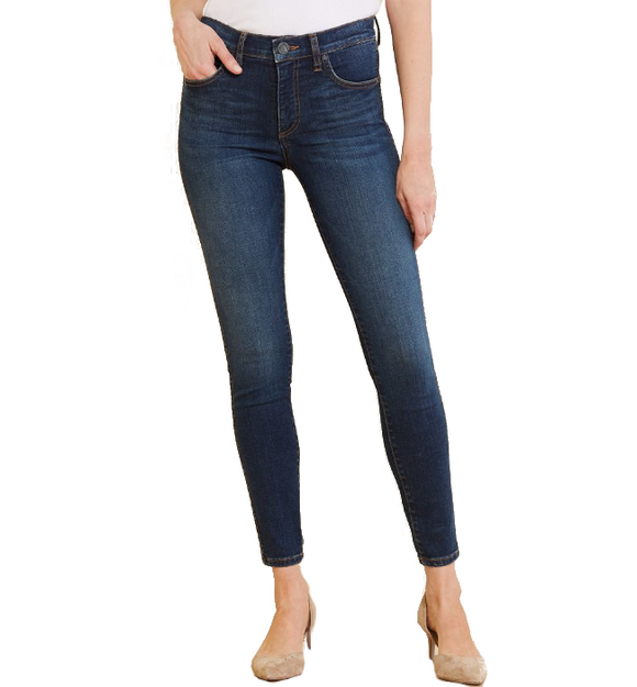 Connie High Rise Fab Ab Ankle Skinny