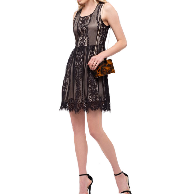 It's a Party Black Lace Dress - Hudson Square Boutique