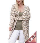 Sand and Mocha Cardigan - Hudson Square Boutique