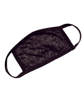 SIX/FIFTY Dark Leopard Face Mask - Hudson Square Boutique