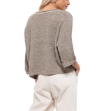 Sage Knitted Top - Hudson Square Boutique LLC
