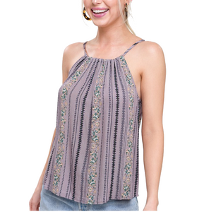 Wildflower Top in Mauve - Hudson Square Boutique