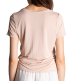 Short Sleeve Basic Blush Tee