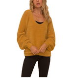 Brielle Cozy Scoop Sweater