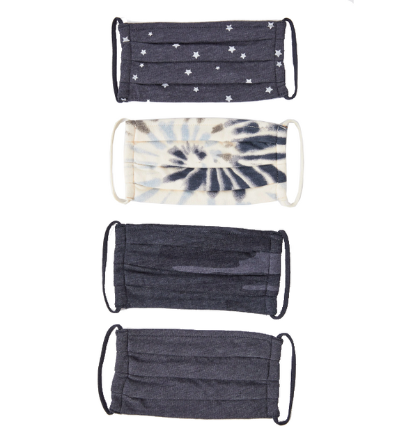 Navy Reusable Cloth Face Masks