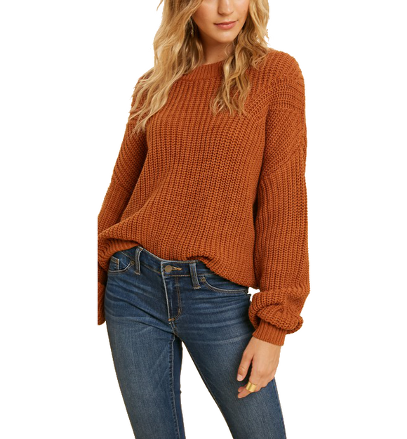Apple Orchard Knit Sweater