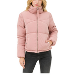 Mauve Puffer Jacket - Hudson Square Boutique