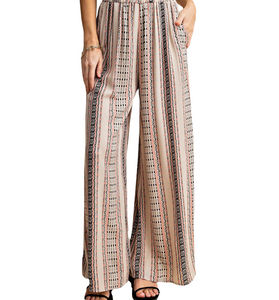 Boho Wide Leg Pants - Hudson Square Boutique LLC
