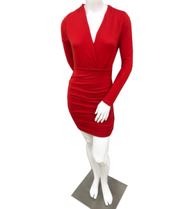 Red Holiday Dress - Hudson Square Boutique LLC