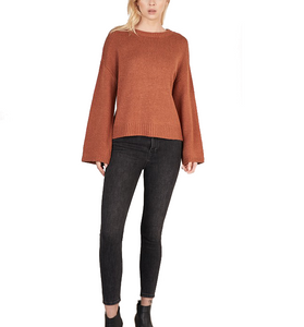 Caramel Knitted Sweater