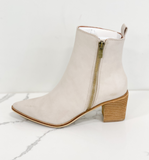 Cindy Side Zip Ankle Bootie - Hudson Square Boutique
