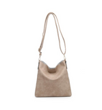 Scalloped Cross Body Purse - Hudson Square Boutique