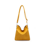 Scalloped Cross Body Purse - Hudson Square Boutique LLC
