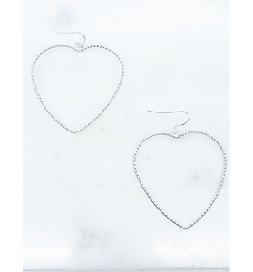 Heart Earrings - Hudson Square Boutique