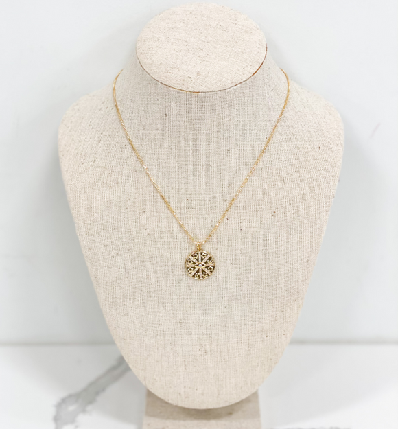 Moon + Star Charm Necklace - Hudson Square Boutique
