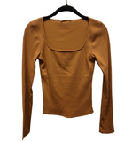 Square Neck Ribbed Top - Hudson Square Boutique LLC