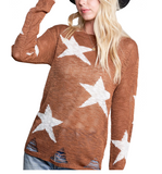 Camel Star Sweater