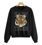 EASY TIGER Black Sweatshirt