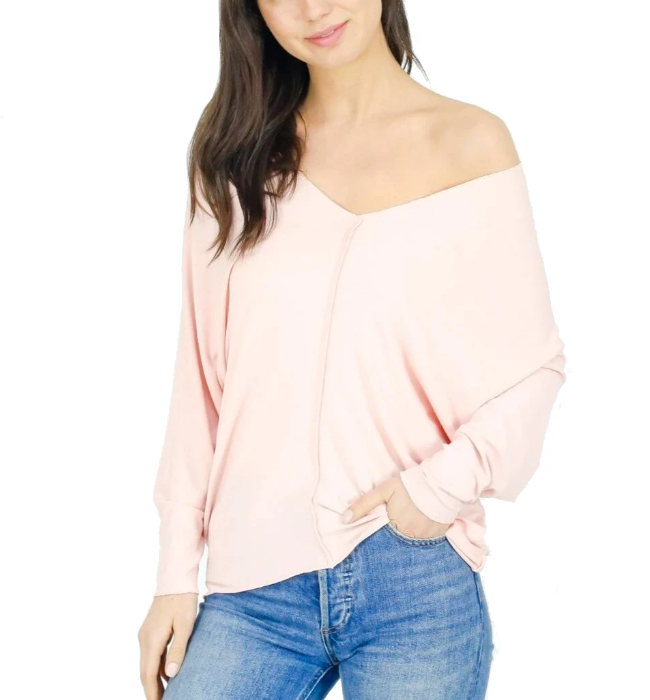 Tribeca Top in Blush