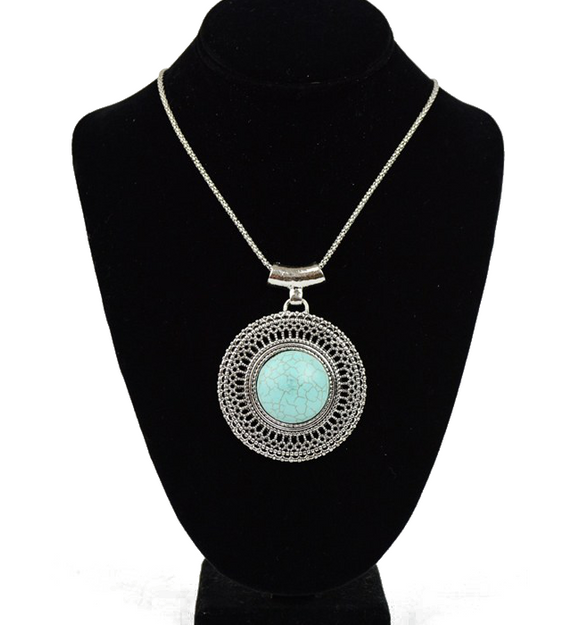Turquoise Sunrise Necklace