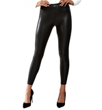 Vegan Leather Premium Leggings - Hudson Square Boutique
