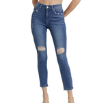 LTJ Verona Knee Distressed Skinny Jeans