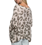 Lightweight Leopard Sweater - Hudson Square Boutique