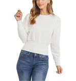 Wintry Puff Sleeve Top